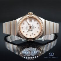 Omega Constellation Ladies Gold/Steel 31mm Mother of pearl No numerals South Africa, Johannesburg