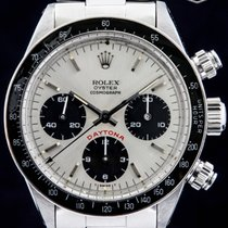 "Rolex 1985 Rolex Daytona (Ref. 6263) Silver ""Big Red"" Dial"