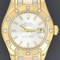Rolex Or jaune 29mm Remontage automatique 80318 occasion