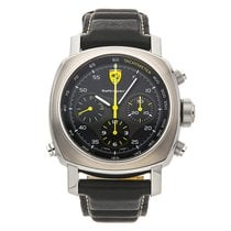 Panerai 45mm Automatic pre-owned Ferrari Black