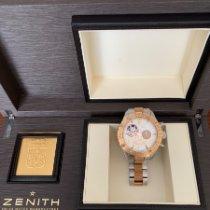 Zenith Defy El Primero Goud/Staal 47mm Doorzichtig Geen cijfers