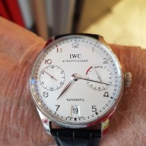 IWC Platinum Automatic 42.3mm pre-owned Portuguese Automatic