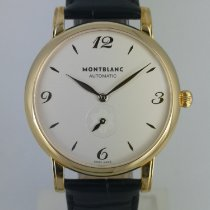 Montblanc Yellow gold Automatic White Arabic numerals 39mm new Star Classique