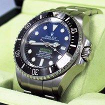 Rolex Sea-Dweller Deepsea 116660 BLSO pre-owned