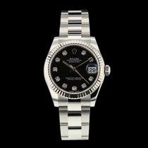 Rolex Lady-Datejust Stahl 31mm Schwarz Schweiz, Nyon (Genéve)