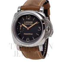 Panerai Luminor Marina 1950 3 Days pre-owned 47mm Black Leather