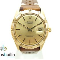 Rolex Datejust Turn-O-Graph Yellow gold 36mm Champagne No numerals