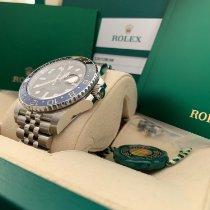 Rolex GMT-Master II Stahl 40mm Schwarz Keine Ziffern Schweiz, Zürich