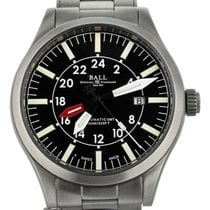 Ball Engineer Master II Aviator Acero 44mm Negro