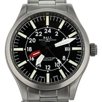 Ball Acero Automático Negro 44mm usados Engineer Master II Aviator