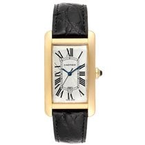 Cartier Tank Américaine Yellow gold 26.6mm Silver Roman numerals United States of America, Georgia, Atlanta