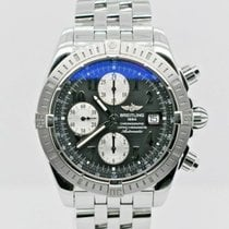 Breitling Chronomat Evolution Steel 44mm Black Arabic numerals United States of America, New York, New York