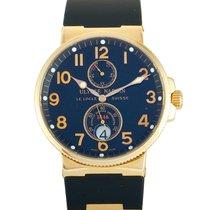 Ulysse Nardin Marine Chronometer 41mm 266-66-3/62 God Rosa guld 41mm Automatisk