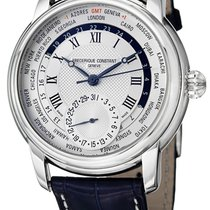 Frederique Constant Manufacture Worldtimer FC-718MC4H6-BLUE new