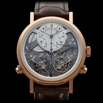 Breguet Tradition 7077 Chronograph 18k Rose Gold Gents...
