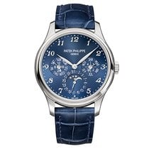 Patek Philippe Perpetual Calendar White gold 39mm Blue Arabic numerals United States of America, New York, New York