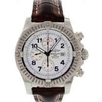 Breitling Super Avenger Chronograph SS A13370 Box/Papers