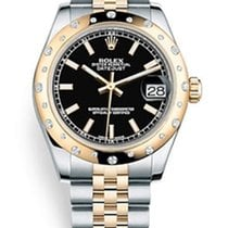 Rolex Datejust Yellow Gold & Stainless Steel &...