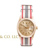 Rolex Mens 18K Gold Day-Date President -Champagne Dial - Red...