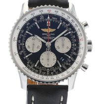 百年灵  Navitimer 01 AB0120 Watch with Leather Bracelet and...