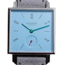 NOMOS Tetra Steel 29mm Blue Arabic numerals