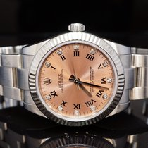 Rolex 2008 31mm Oyster Perpetual, Pink Diamond Dot Dial 177234...