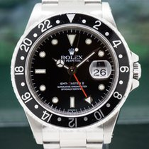 Rolex 16710 GMT Master II SS Black (29112)