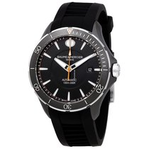 Baume & Mercier Clifton Steel Black