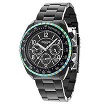 Police Mens Quartz Watch, multi dial Display and Stainless...