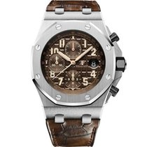 Audemars Piguet Royal Oak Offshore Chronograph new 2018 Automatic Chronograph Watch with original box and original papers 26470ST.OO.A820CR.01