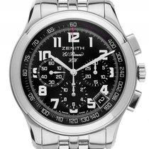 Zenith El Primero HW Stahl Handaufzug Chronograph Armband...
