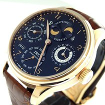 IWC Portuguese Perpetual Calendar Rose gold 44mm Black United States of America, California, Los Angeles