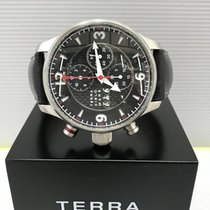 Terra Cielo Mare Stål 46mm Automatisk TC6124AC3PA brugt