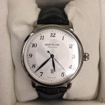Montblanc Steel 42mm Automatic 116511 new