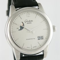 Glashütte Original Stål 38mm Automatisk 3941020204 begagnad