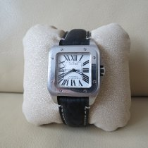 Cartier Santos 100 2878 Good Steel 33mm Automatic