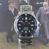 Omega Seamaster Diver 300 M Acél 42mm Kék