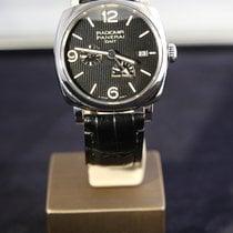 沛納海 Radiomir 1940 3 Days Automatic 二手 45mm 黑色 日期 格林尼治標準時間 (GMT) 皮