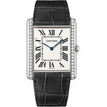 Cartier White gold 40.4mm Manual winding WT200006 new