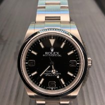 Rolex pre-owned Automatic 39mm Black Sapphire Glass 10 ATM