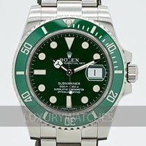 Rolex Submariner Date 116610LV Very good 40mm Automatic