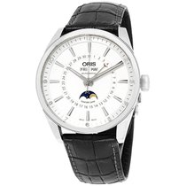 Oris Artix Complication Steel 42mm Silver Arabic numerals