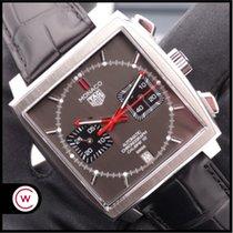 TAG Heuer Monaco Calibre 12 ny 2020 Automatisk Kronograf Klokke med original eske og originale dokumenter CAW211J.FC6476