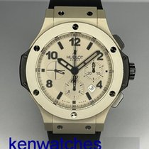 Hublot Aluminum Automatic Grey Arabic numerals pre-owned Big Bang