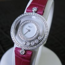 Chopard Happy Diamonds Or blanc 24mm Blanc France, Montpellier