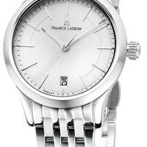 Maurice Lacroix Les Classiques Date Damen-Armbanduhr Edelstahl