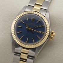 Rolex Lady Perpetual Automatic Stahl / Gold Mint Papiere