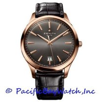 Zenith Captain Central Second Rose gold 40mm Grey United States of America, California, Newport Beach