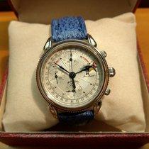 Jean Marcel Chronograph 36mm Automatik gebraucht Silber