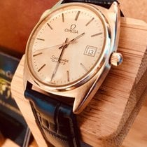 Omega Seamaster Quartz Mens vintage watch cal 1342 + Box